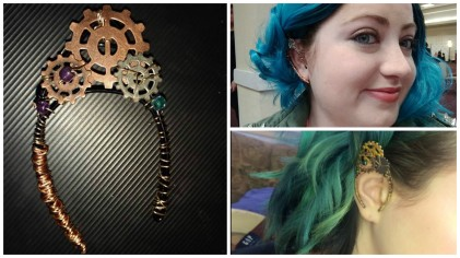 Ear Cuff Photo Collage